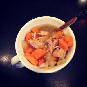 chicken sweet potato stew
